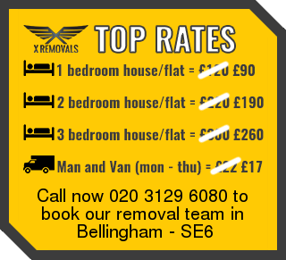 Removal rates forSE6 - Bellingham