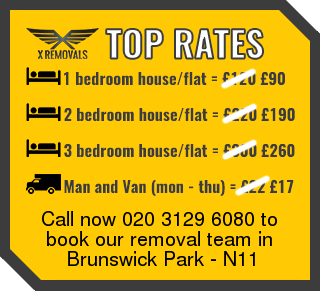 Removal rates forN11 - Brunswick Park