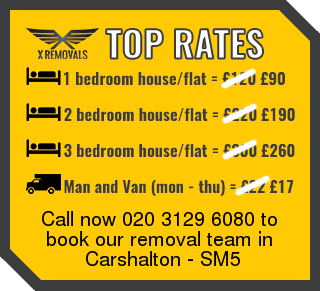 Removal rates forSM5 - Carshalton