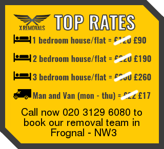 Removal rates forNW3 - Frognal