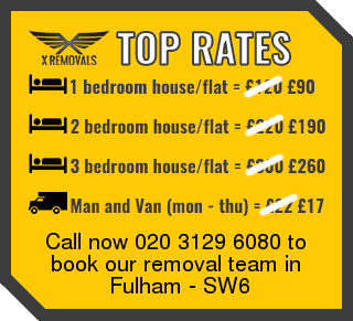 Removal rates forSW6 - Fulham