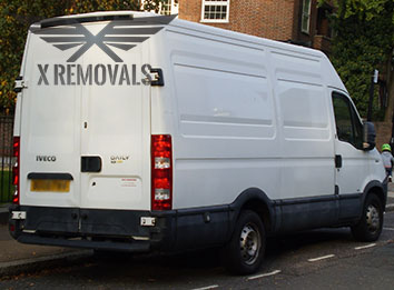 Hire man with a van in London
