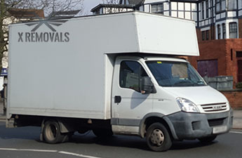 Removal truck hire in Ealing