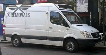 Professional van removal in Chelsea