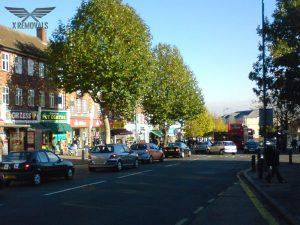 Ruislip Road in Greenford